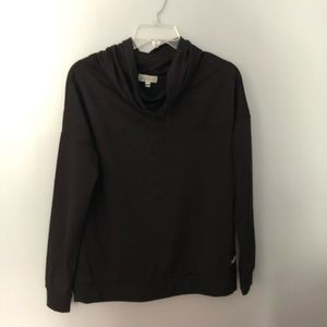 Simply Southern black cowl neck pullover S